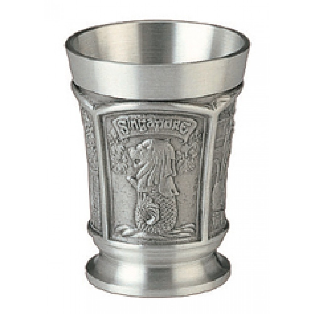 MSP32410 - Pewter Tumbler, Singapore - 1